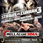 'Bellator 112: Straus vs. Curran III' Live Results