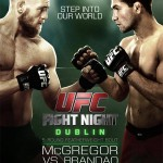 'UFC Fight Night: McGregor vs. Brandao' Live Results