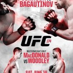 'UFC 174: Johnson vs. Bagautinov' Official Event Poster
