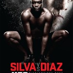 'UFC 183: Silva vs. Diaz' Official Event Poster