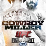 'UFC Fight Night: Cowboy vs. Miller' Live Results