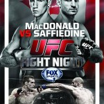 'UFC Fight Night: MacDonald vs. Saffiedine' Live Results