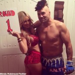 Randy Couture Dresses as Chuck Liddell for Halloween (Video)