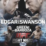 'UFC Fight Night: Edgar vs. Swanson' Live Results