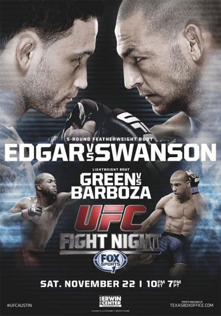 UFC Poster Fight Night 57