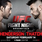'UFC Fight Night: Henderson vs. Thatch' Live Results