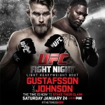 'UFC on FOX: Gustafsson vs. Johnson' Live Results