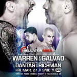 'Bellator 135: Warren vs. Galvao' Live Video And Results