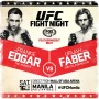 'UFC Fight Night: Edgar vs. Faber' Live Results
