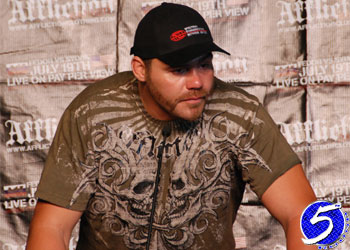 Tim Sylvia Affliction: Banned Post-Fight Press Conference