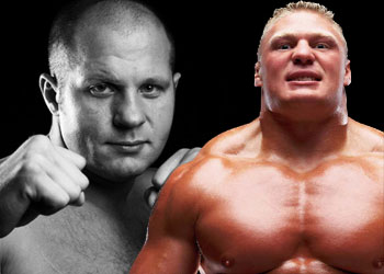 Fedor Emelianenko vs. Brock Lesnar