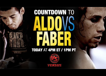 Countdown to WEC poster 48: Aldo vs. Faber