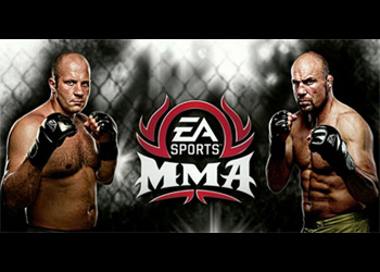 EA Sports MMA 2010 Randy Couture Fedor Emelianenko