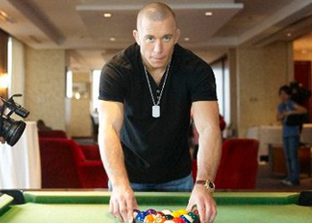 UFC Welterweight Champ Georges St-Pierre Manila