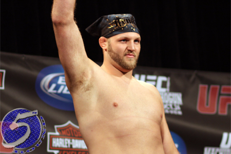 UFC Heavyweight Ben Rothwell