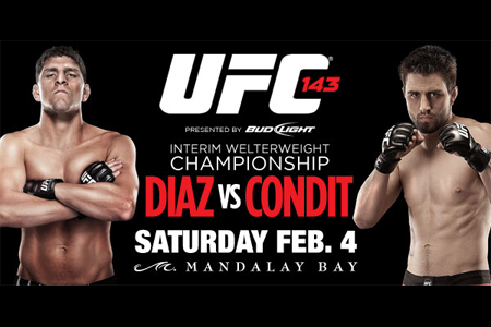 "UFC 143: Diaz vs. Condit"" Tickets on Sale Today 