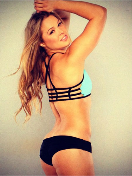 It's clear Strikeforce bantamweight queen Ronda Rousey (Pictured