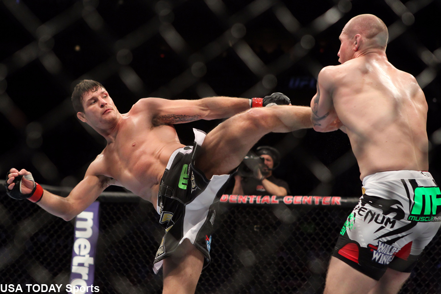 Image Result For Michael Bisping Vs Luke Rockhold Ko