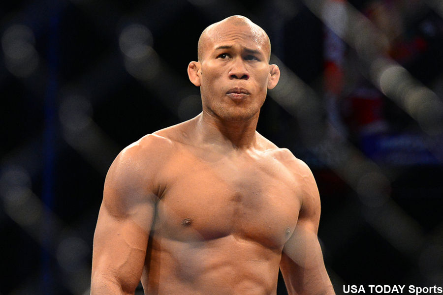 "... Jacare"" Souza (pictured) will battle Yoel Romero at UFC 184 on"