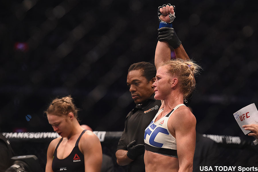 UFC Holly Hom Ronda Rousey