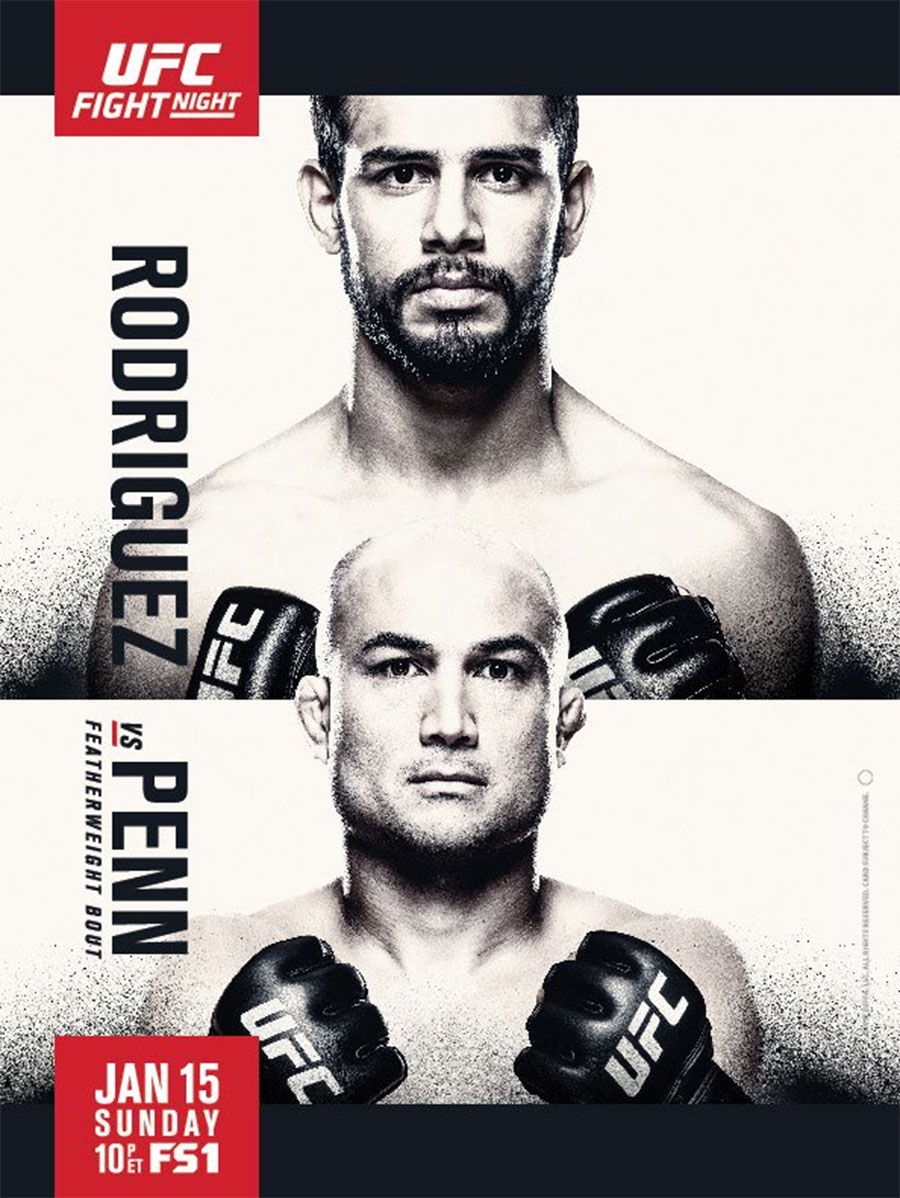 UFC Poster Fight Night 103 Penn