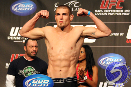 UFC Middleweight Dustin Jacoby